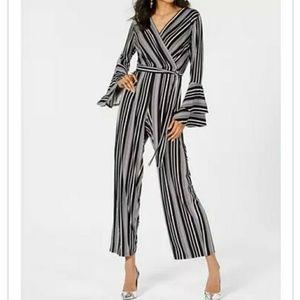 🔥🆕➕  Thalia Sodi 💜 Stripe Jumpsuit